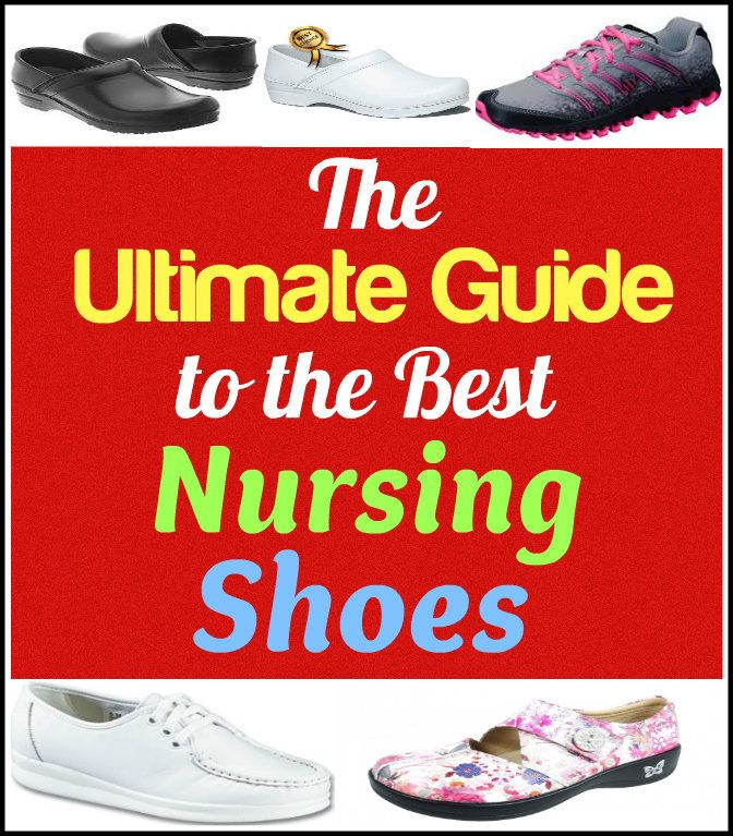 Are your shoes hurting your feet and back? It's about time to buy the best shoes for nurses! This guide will show you how.   #nursing #shoes #fashion