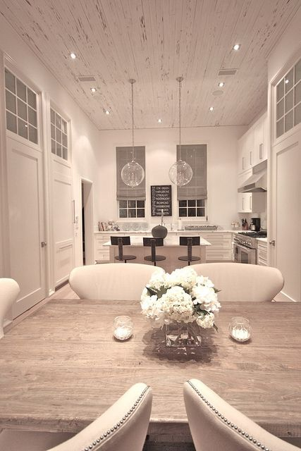looking towards the kitchen from the Great rm.