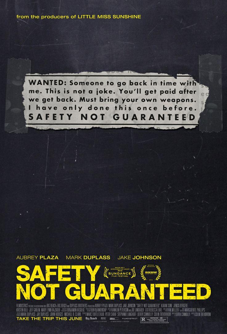 Safety Not Guaranteed Stars Aubrey Plaza, Mark Duplass