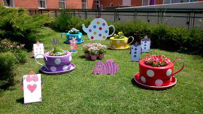 Adavir concurso decorando el jardin me gusta pinterest for Como decorar un jardin con macetas