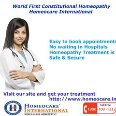 Homeocare International is one of the best Homeopathy clinic available at chennai moreover. We have 28 branches spread across south India. Our aim is to provide best Homeopathy for all health disorders with an unique care. Homeopathy is the natural science that treats the individual through an Holistic way. Homeopathy  remedies are well balances the changes in hormones by healing the body. Obtain the healthy & happy life by Visiting our Homeopathy clinic at chennai.