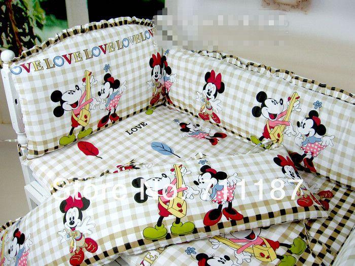 Mickey and Minnie crib bedding set. 1000  images about Natasha room ideas on Pinterest   Disney mickey