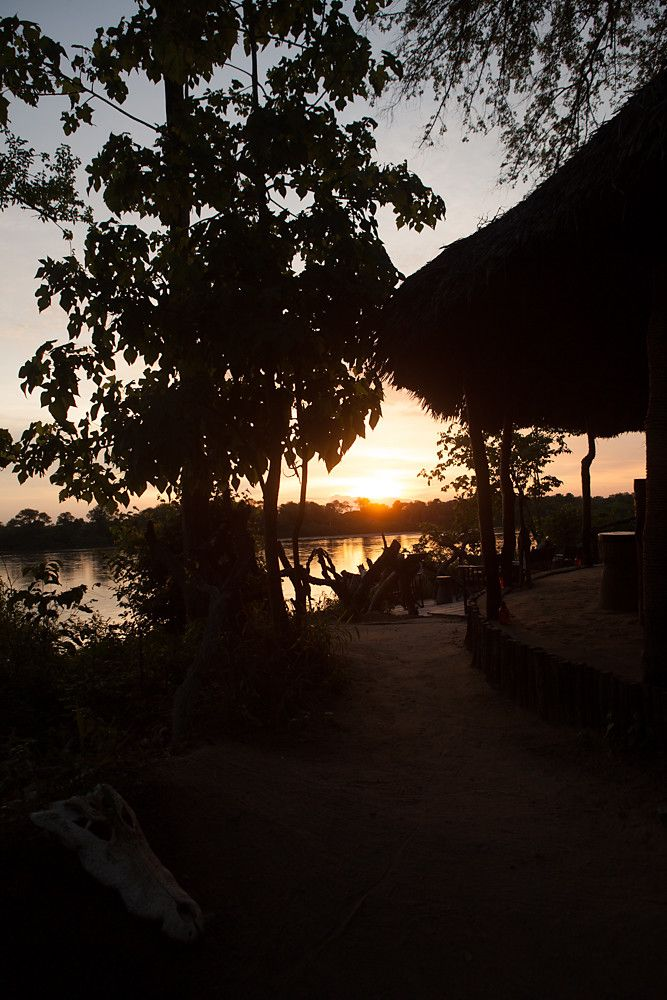 The bar @ Selous River Camp
