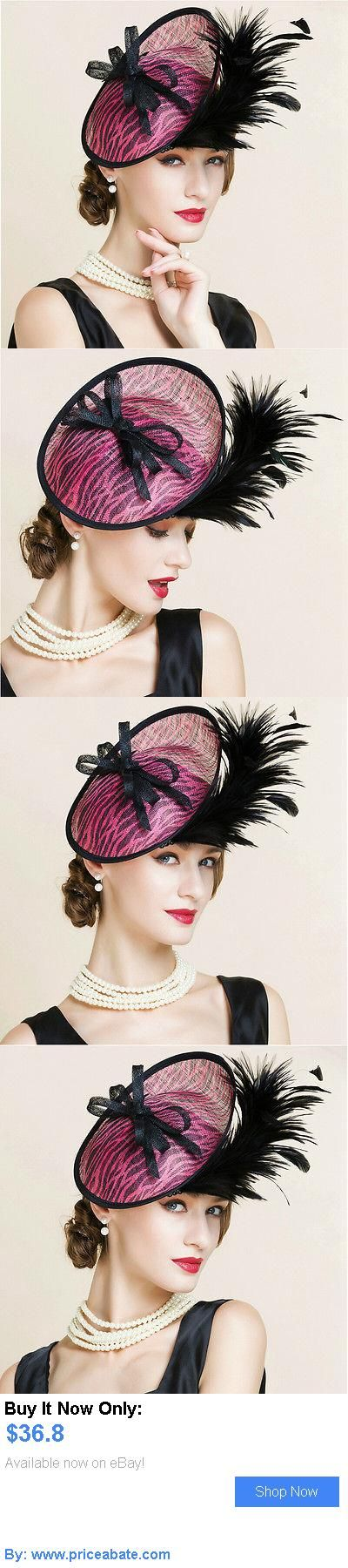 Women Formal Hats: New Womens Linen Hat Kentucky Derby Church Wedding Noble Dress Hat Feather Hat BUY IT NOW ONLY: $36.8 #priceabateWomenFormalHats OR #priceabate