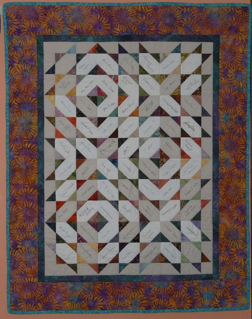 21 best easy quilts: signature quilt images on Pinterest ... : wedding quilt block pattern - Adamdwight.com
