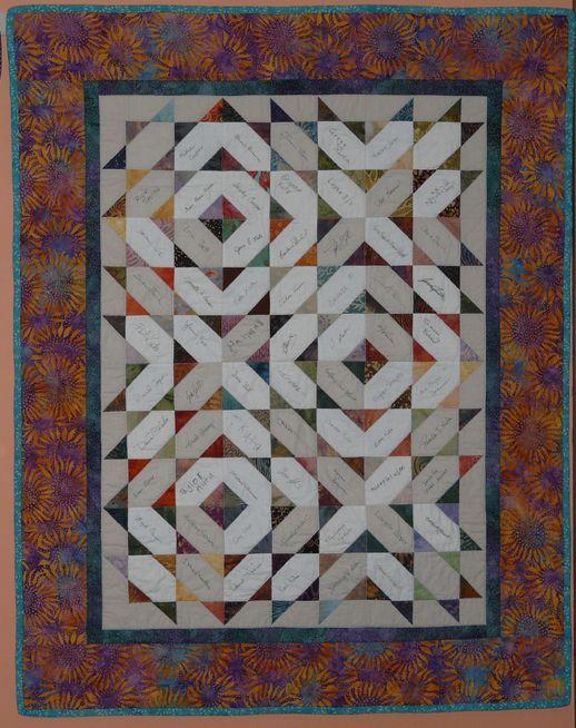 21 best easy quilts: signature quilt images on Pinterest | Family ... : wedding signature quilt - Adamdwight.com