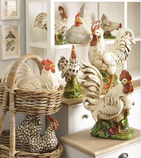 64 Best Rooster Kitchen Images On Pinterest Roosters