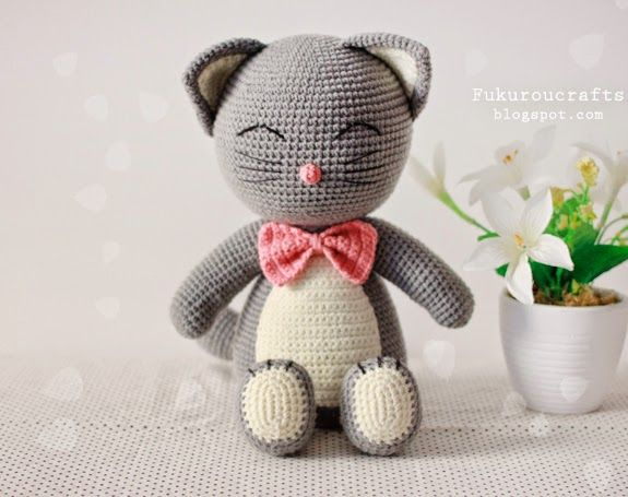 Amigurumi Cat Doll : 280 best amigurumi: cats images on pinterest amigurumi patterns