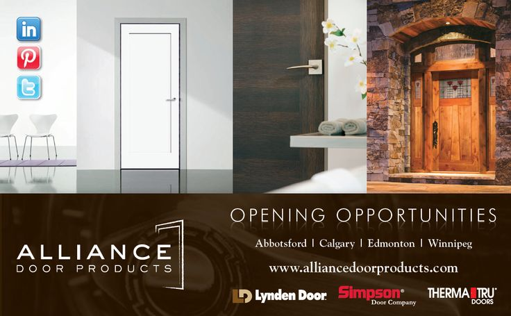 Alliance Door Products are exhibiting StileLine; Therma-Tru Pulse in booth at the Oct 2013 Westcoast Building u0026 HW Show. & 193 best Other Doors images on Pinterest | Indoor gates Interior ...
