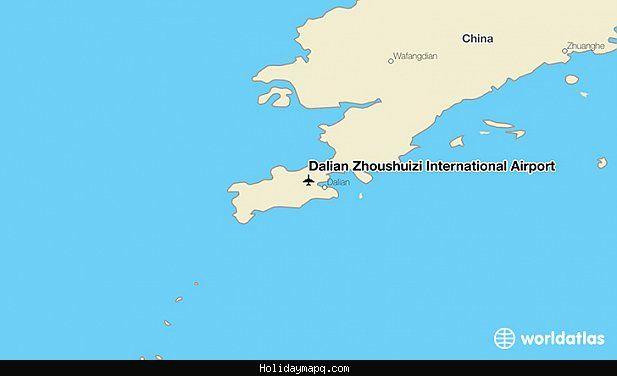 awesome Map of Yantai Laishan International Apt