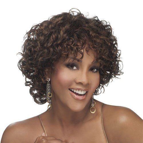 "VIVICA A FOX Pure Stretch Wig - OPRAH 1 (# 2 - Dark Brown) by VIVICA A FOX. $35.99. VIVICA A FOX. SYNTHETIC. MEDIUM. PURE STRETCH CAP. CURLY. VIVICA A FOX Pure Stretch Wig - OPRAH 1 Shown Color: P4/30/33  10"" MIX OF LOOSE AND MEDIUM SPIRAL CURLS WITH A SIDE SKIN PART  10"" MIX OF LOOSE AND MEDIUM SPIRAL CURLS WITH A SIDE SKIN PART .  Pure Stretch Cap ALL DAY LONG COMFORT! Feel new freedom with the secure and precise fit of the Pure Stretch Cap Wig. - Stretches throughout the entir..."