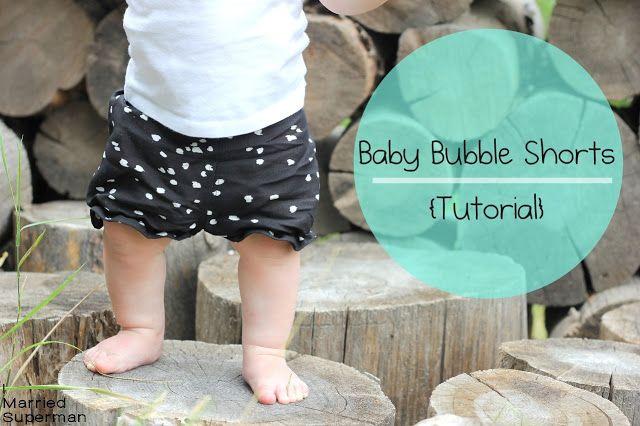 Free: Baby Bubble Shorts {Tutorial}