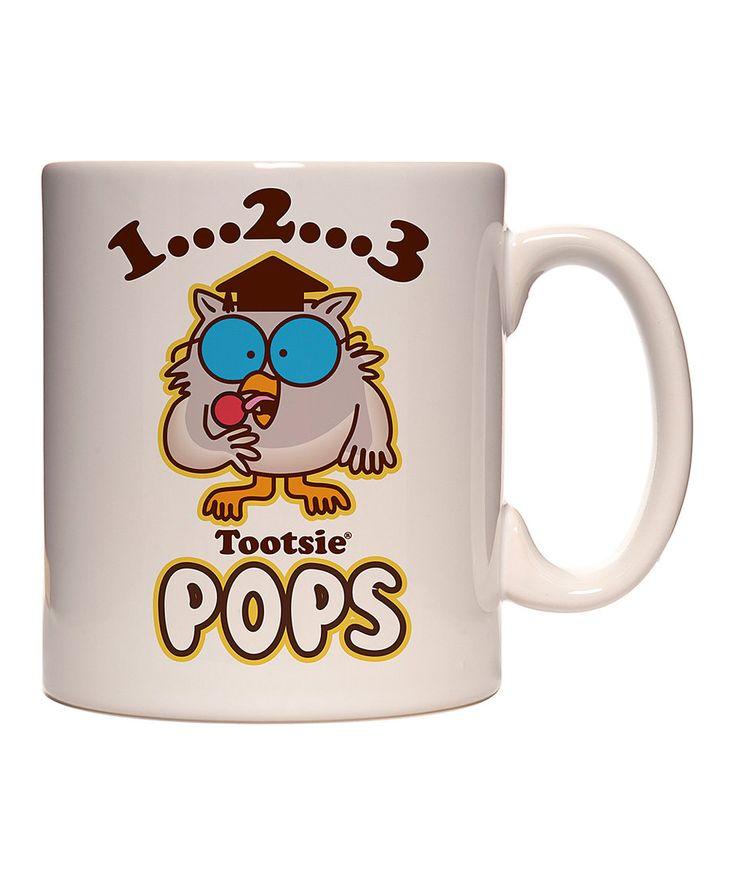 Look at this #zulilyfind! Tootsie Pops White Owl 11-Oz. Mug by Tootsie Roll #zulilyfinds