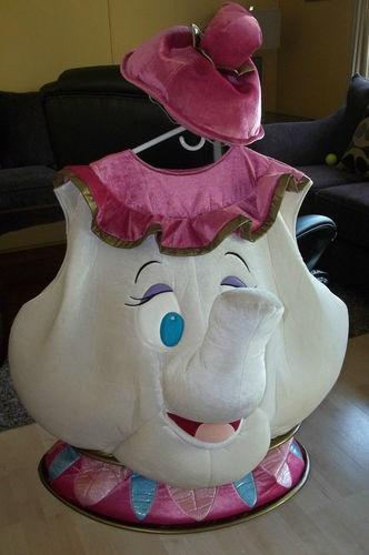 Disney Beauty and the Beast Mrs. Potts Teapot Costume Adult L | eBay