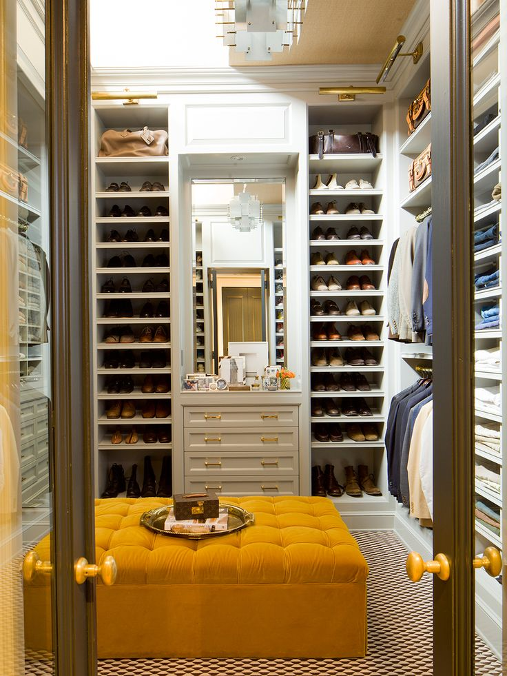 Beautiful closet designed by Nate Berkus - yes please.