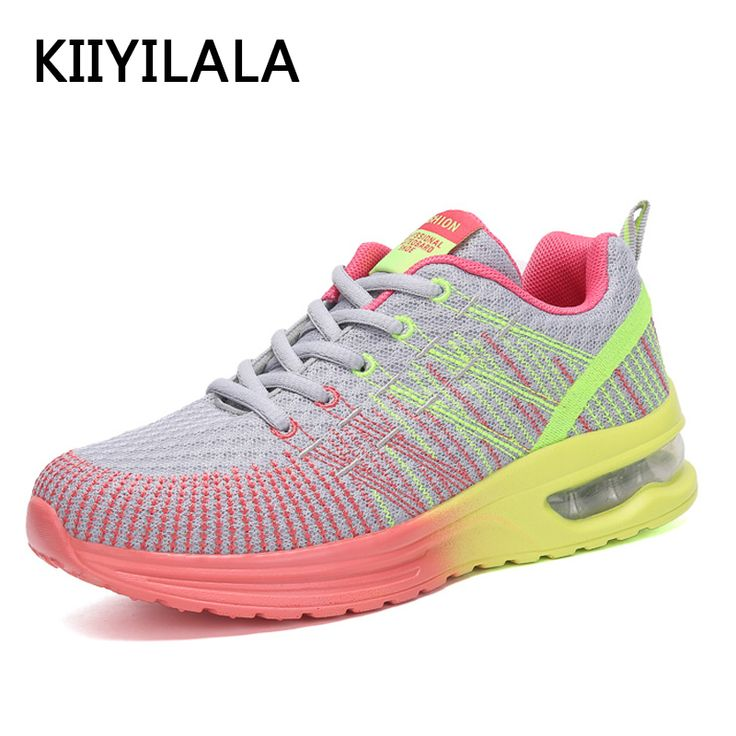 KIIYILALA Running Shoes Woman Outdoor High Quality Breathable Comfortable Sneakers Height Increasing Athletic Mesh Sports shoes. Yesterday's price: US $29.80 (24.52 EUR). Today's price: US $14.90 (12.31 EUR). Discount: 50%.