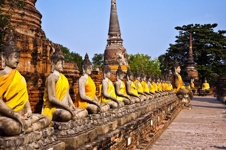 Ayutthaya Temple.Ayutthaya  full name Phra Nakhon Si Ayutthaya , is an ancient capital and modern city in the Central Plains of Thailand.Book Cheap Flights Tickets to Thailand from UK with Travel Trolley