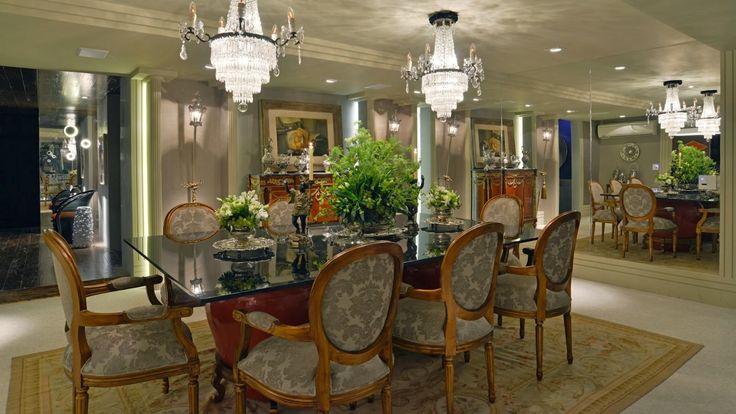 Sala De Jantar Tem Que Ter Tapete ~ Salas de jantar50 modelos maravilhosos e dicas de como decorar!