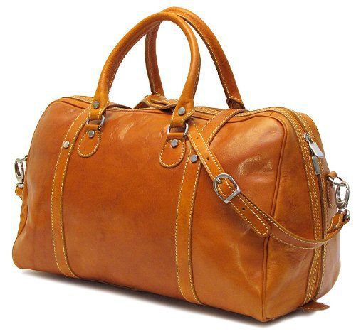 New Trending Luggage: Floto Luggage Trastevere Duffle Leather Weekender, Orange, Medium. Floto Luggage Trastevere Duffle Leather Weekender, Orange, Medium   Special Offer: $251.73      222 Reviews Trastevere duffle comes in four colors – tuscan red, orange, vecchio brown, and black, Italian polished calf-skin leather, (11 inch high x 8 inch wide x 18 inch long)11 inch h x...