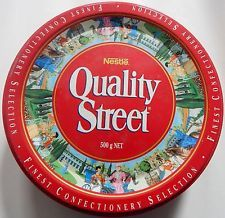 Rare Vintage Quality Street Tin