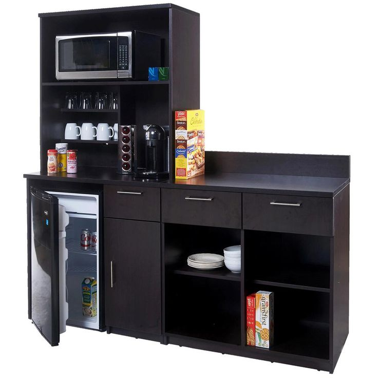 Coffee kitchen espresso sideboard with lunch break room - Commercial grade living room furniture ...