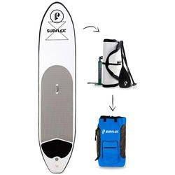 Prancha Stand Up Paddle Supflex Standard 11.0 Pés Com Remo - BRANCO/PRETO Desconto Centauro para Prancha Stand Up Paddle Supflex Standard 11.0 Pés Com Remo - BRANCO/PRETO por apenas R$ 3222.27.