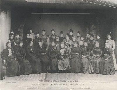 DAR members from a bygone era