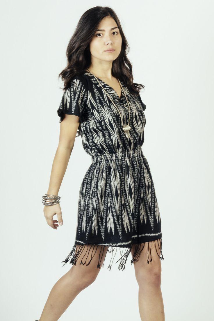 *Pre-Order* Rayong Fringe Dress