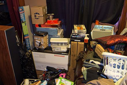 Compulsive hoarding - Wikipedia, the free encyclopedia