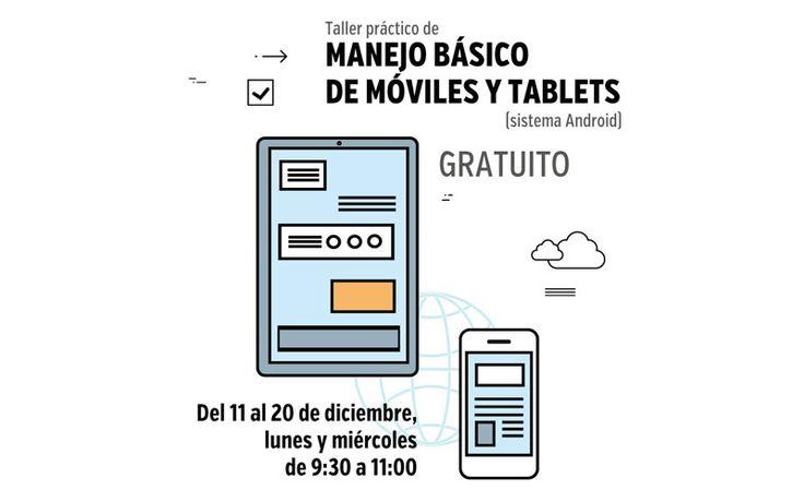 El Ayuntamiento de Manzanares El Real organiza un interesante taller para sacarle todo el partido a tu smartphone (android) o tablet.