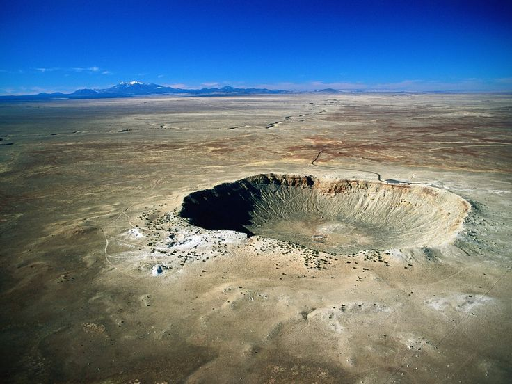 Meteor Crater, Arizona--I had an outstanding time at this big ol' hole in the ground. Since the surrounding landscape is so barren it's easy to imagine you're on the moon which is exactly what NASA did here a few decades ago. They tested the lunar rover right here and it's easy to see why.