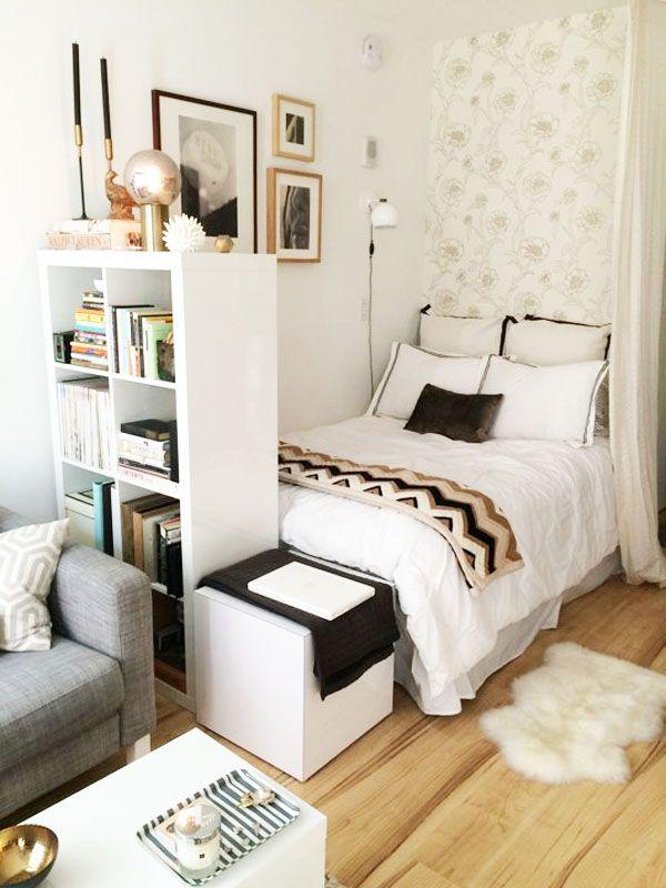 M s de 25 ideas incre bles sobre dormitorios peque os en - Decorar dormitorio pequeno ...