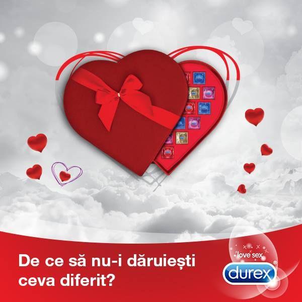 http://bit.ly/DeCeSaNuDaruiestiCevaDiferit Dragostea pluteste-n aer! Cumpara Durex, inscrie bonul in aplicatie, joaca-te si castiga una dintre cele 10 plimbari cu balonul! Anul asta sarbatoresti la inaltime!