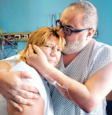 El abrazo: emotivo encuentro de Jorge Lanata con la mujer que le donó el riñon | Arriba Argentinos | El Trece