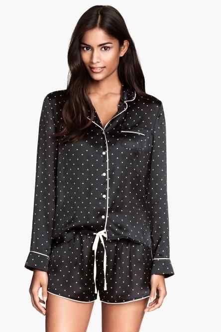 Pijama de satén