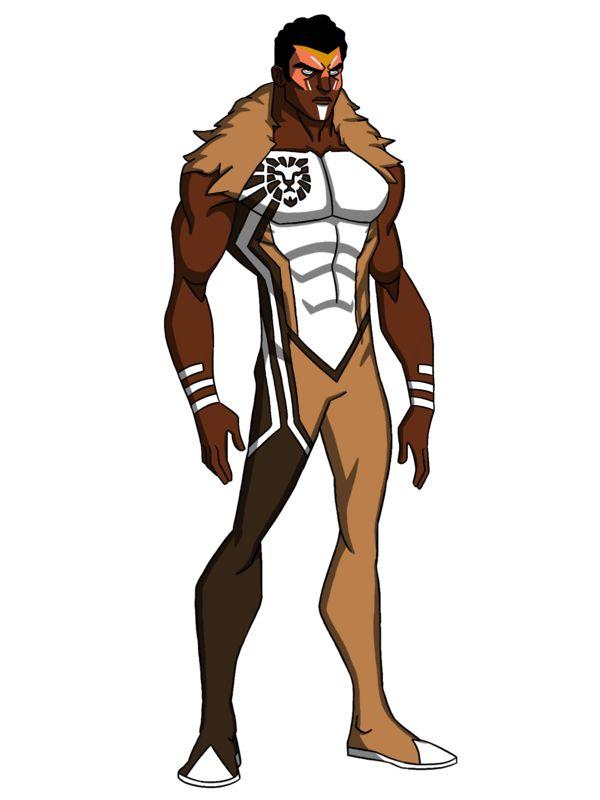 Black Superhero Concepts Costume