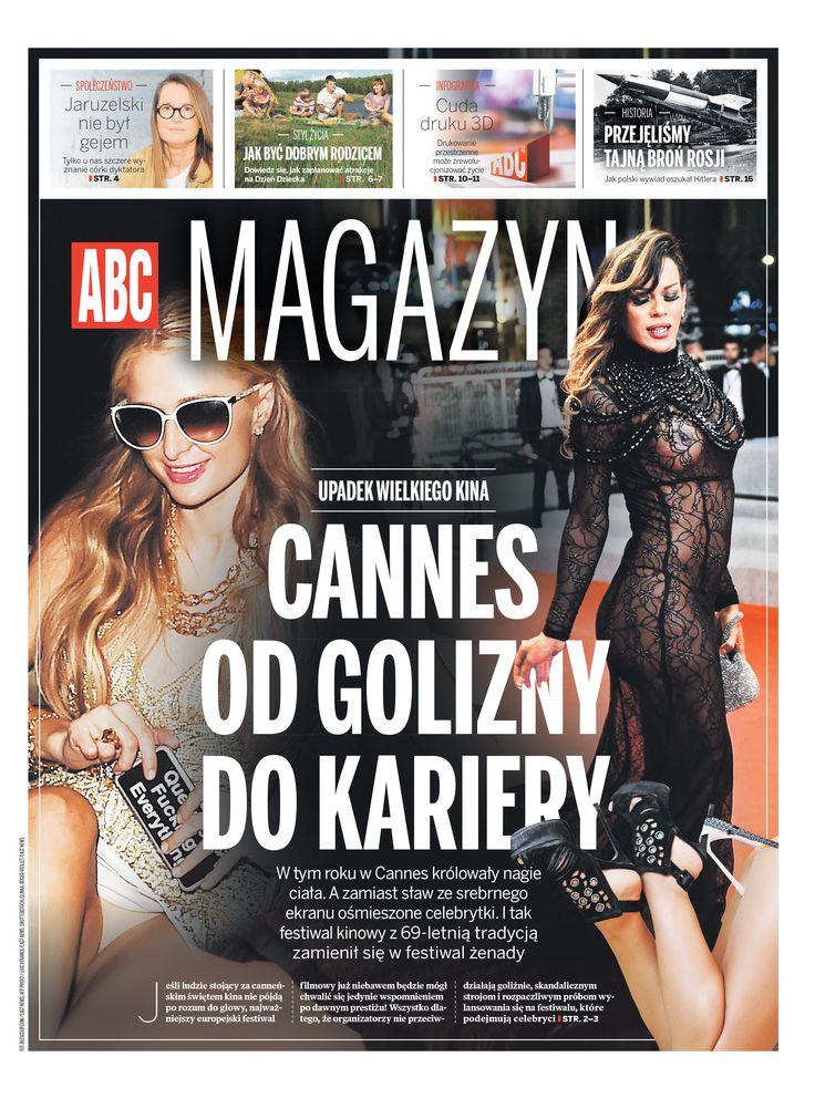 ABC Magazine 6/6 2015 Cannes od golizny do kariery Paris Hilton
