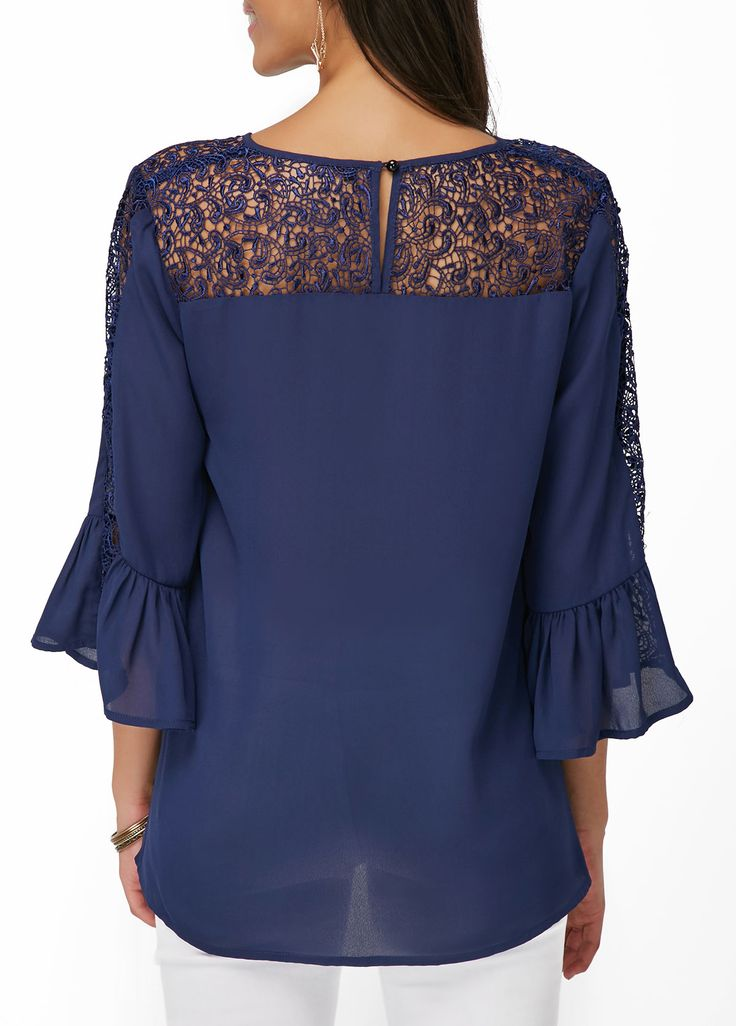 Shop navy silk blouse at Neiman Marcus, where you will find free shipping on the latest in fashion from top designers.