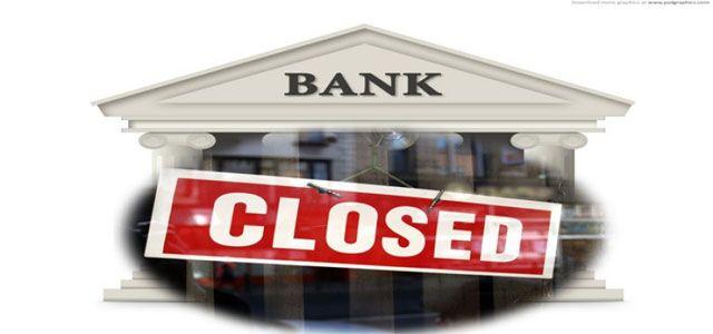सिलीगुड़ी : कल से तीन दिनों तक सभी रास्ट्रीयकृत बैंक बंद रहेंगे. कल शनिवार को महीना का चौथा शनिवार होने के कारण सभी बैंक बंद रहेंगे. उसके अगले दिन रविवार होने व सोमवार को ईद के कारण बैंको�