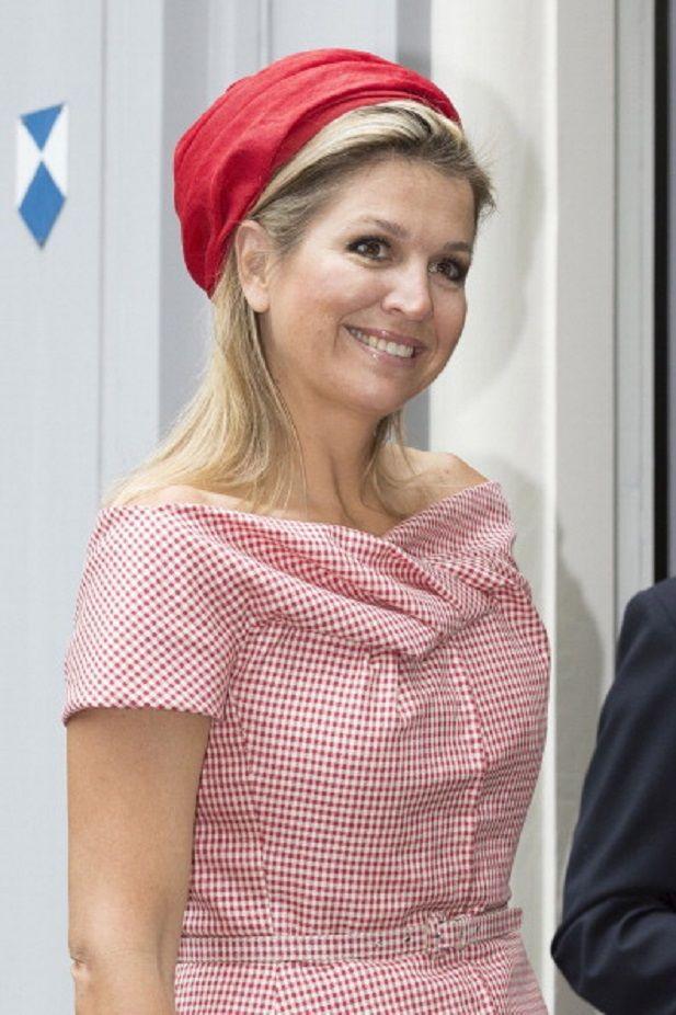 Queen Maxima of The Netherlands attends World MS Day activities on 28.05.2014 in Voorschoten, Netherlands.
