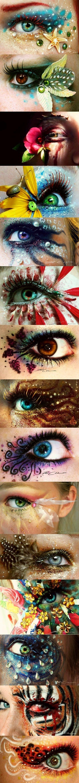 Incredible eye makeup art - Miladies.net