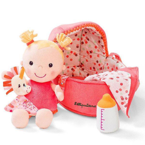 Lilliputiens blød dukke i dukkelift, Louise