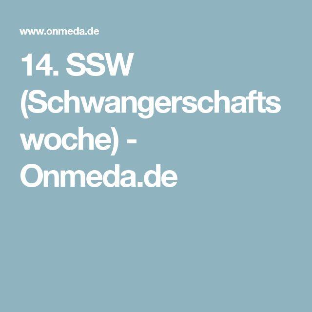 14. SSW (Schwangerschaftswoche) - Onmeda.de