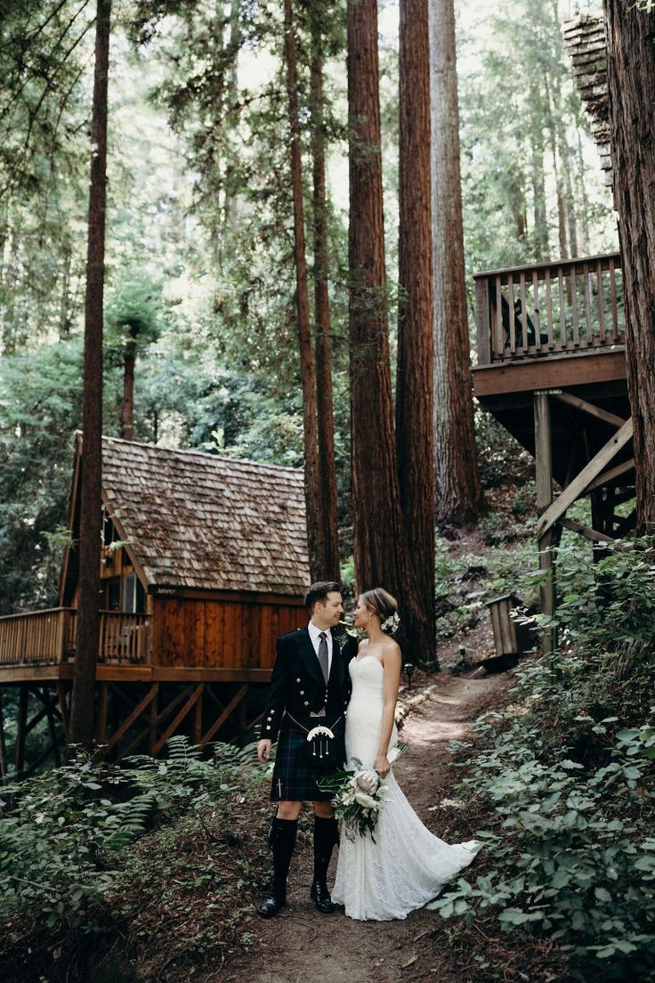 Waterfall Lodge and Retreat Weddings in Ben Lomond
