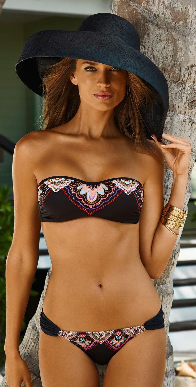 Wow! PilyQ 2015 San Sebastian Underwire Bandeau Bikini