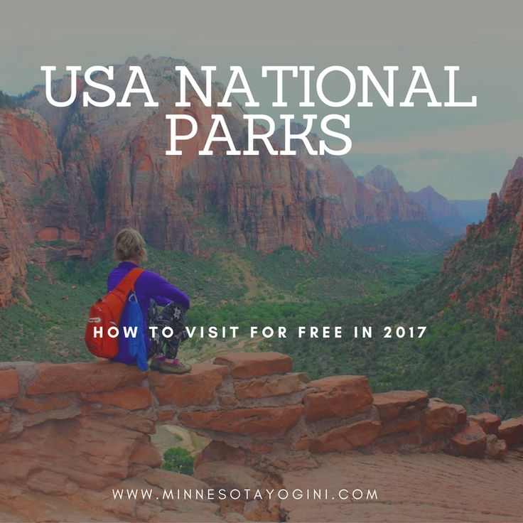 USA National Parks – 10 Free Days in 2017 #travel #nationalparks #wanderlust #blog #ontheblog #nationalpark #free