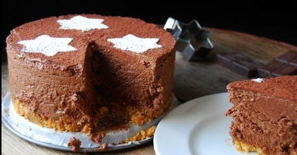 Tarta de queso y chocolate... ¡Sin horno!