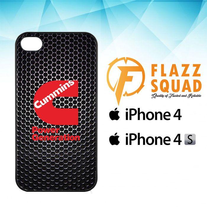 cummins Power Generation logo Z3884 iPhone 4 4S Case