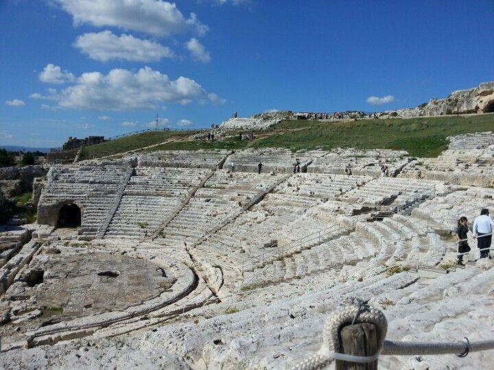 Teatro Greco di Siracusa in Siracusa, Sicilia