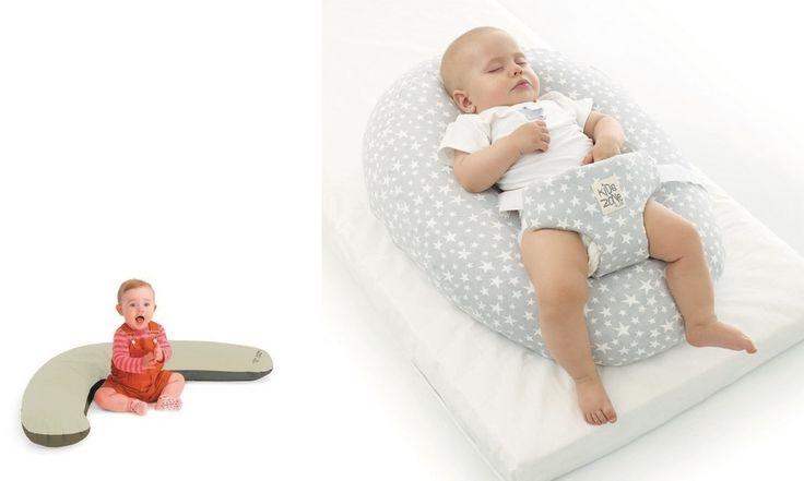 Jané Cuscino gravidanza allattamento 4 in 1 Star - Cuscino 4 in 1, rivestimento sfoderabile in cotone, imbottitura indeformabile in morbide micro perle vergini di polistirene, diventa una comoda sdraietta